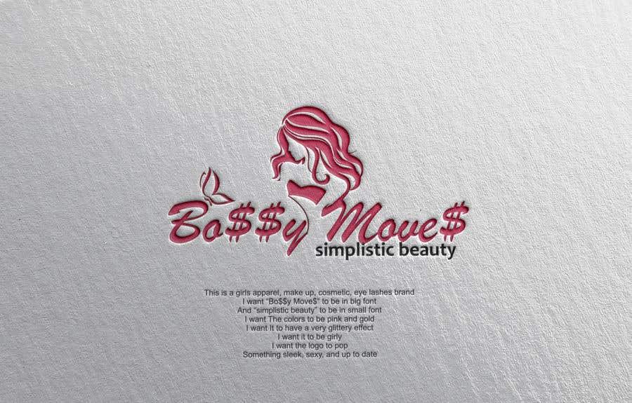 Penyertaan Peraduan #                                        92                                      untuk                                         Logo for Bo$$y Move$ & Simplistic Beauty