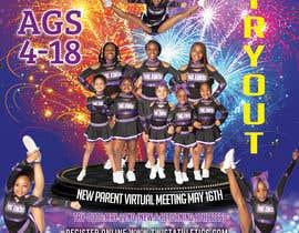 #33 cho Cheerleading Tryout Flyer bởi sshajib63