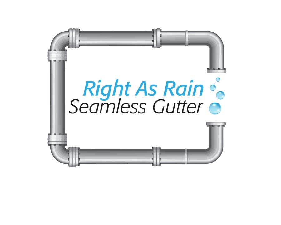 Konkurrenceindlæg #34 for Simple Logo Design For Gutter Installation / Construction Business