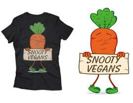 #151 for Vegan T-Shirt Design by rabbyrohomotula0