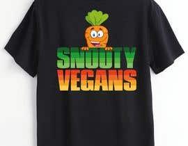 #130 for Vegan T-Shirt Design by touchtodesignbd