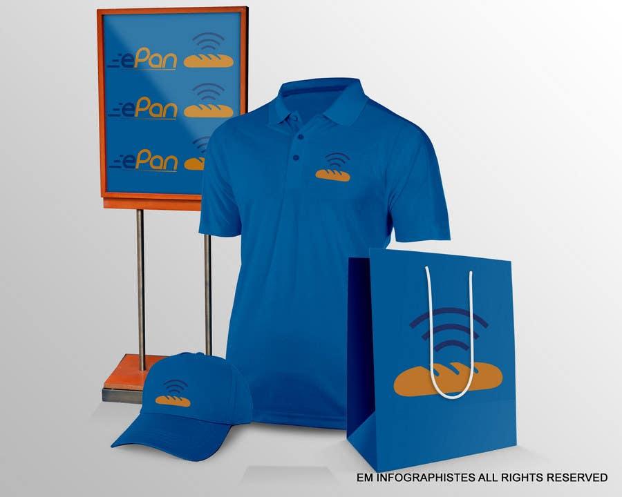 Proposition n°                                        114                                      du concours                                         Diseñar un logotipo para Pan & Pan