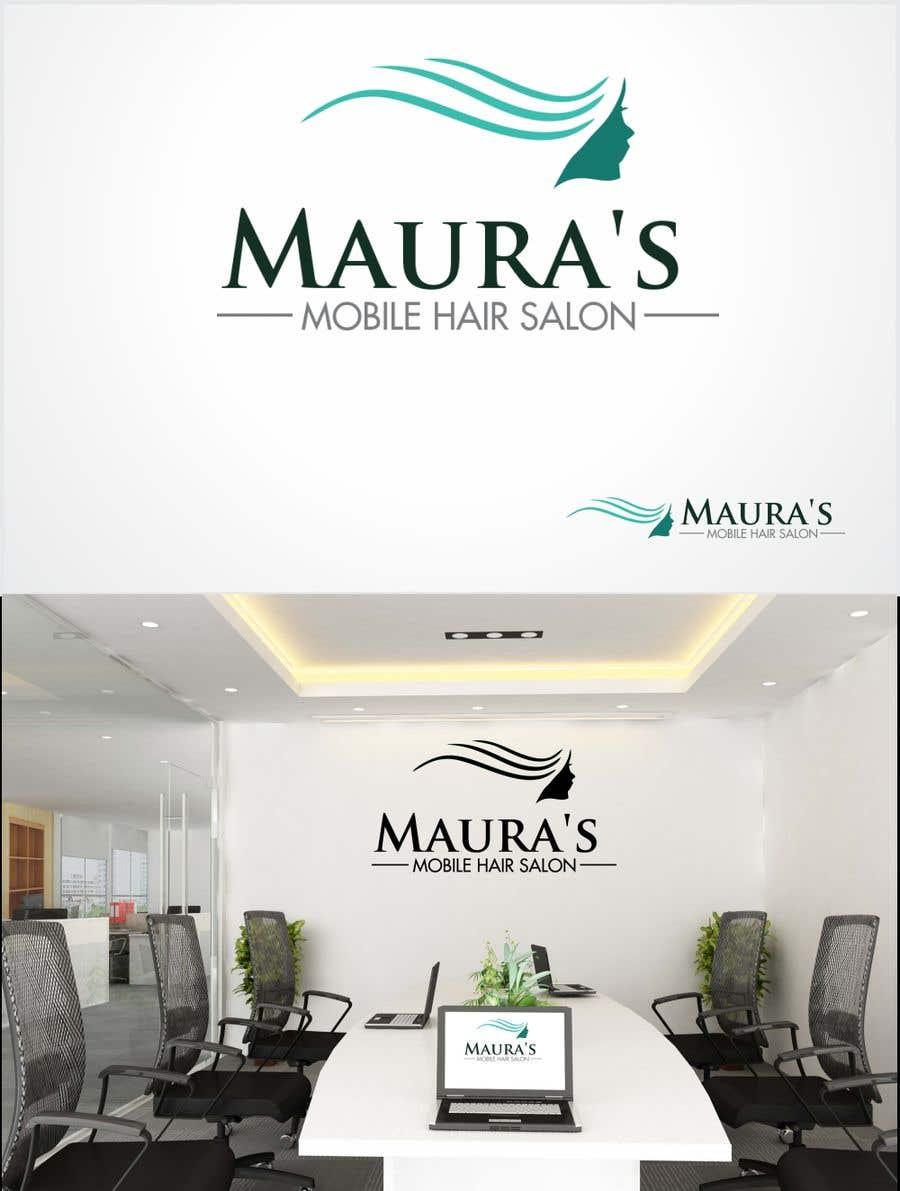 Bài tham dự cuộc thi #                                        86                                      cho                                         Design a logo for      Maura's Mobile Hair Salon