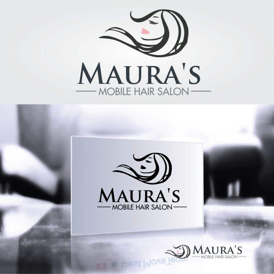 Bài tham dự cuộc thi #                                        88                                      cho                                         Design a logo for      Maura's Mobile Hair Salon