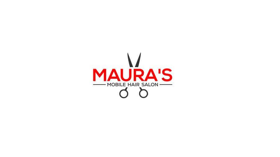 Bài tham dự cuộc thi #                                        42                                      cho                                         Design a logo for      Maura's Mobile Hair Salon