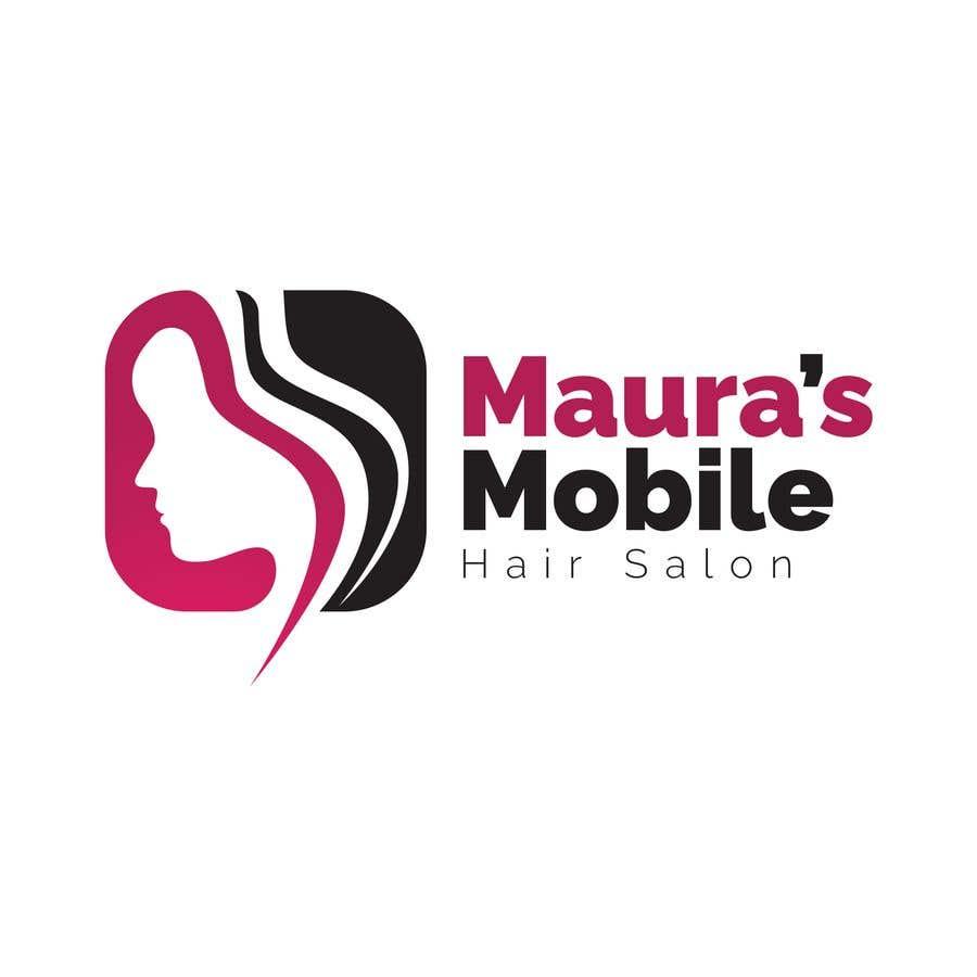 Bài tham dự cuộc thi #                                        3                                      cho                                         Design a logo for      Maura's Mobile Hair Salon