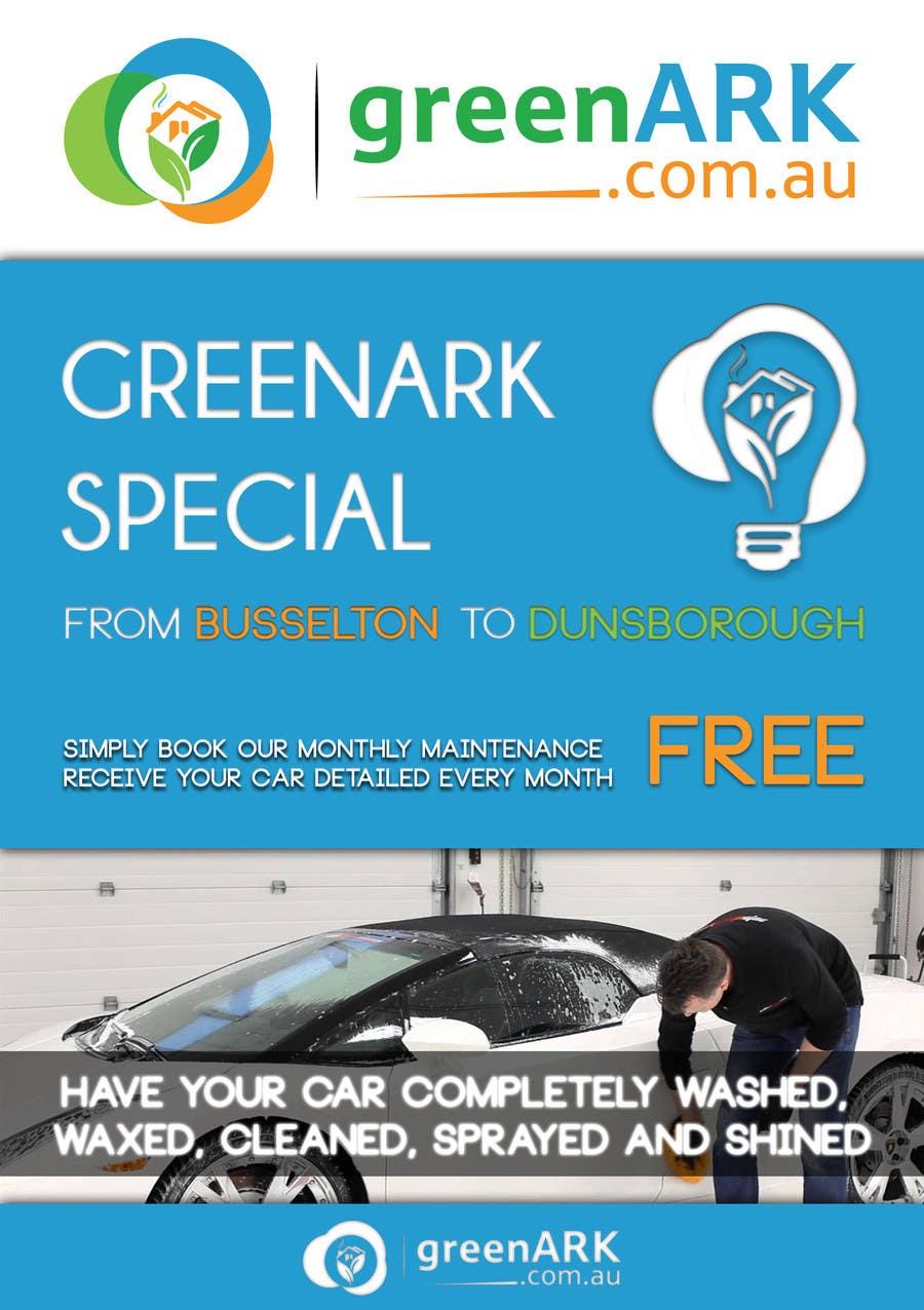 Contest Entry #                                        27                                      for                                         Design a Flyer for GreenArk Property Maintenance
