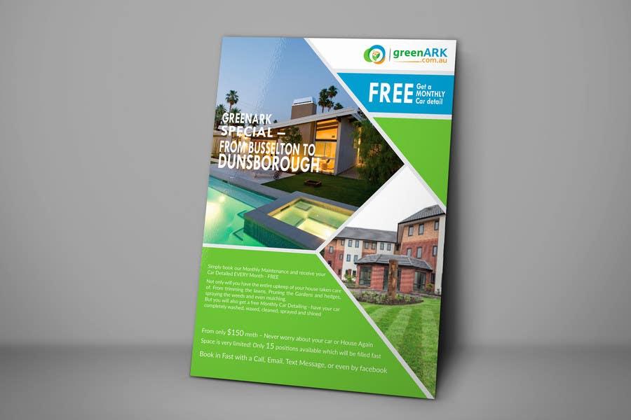 Contest Entry #                                        22                                      for                                         Design a Flyer for GreenArk Property Maintenance