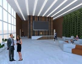 #36 cho 3D Reception hall design bởi pcinteriordesign