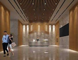 #49 cho 3D Reception hall design bởi pcinteriordesign