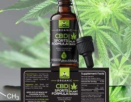 #51 for Label Design for CBD Product af mijan783661
