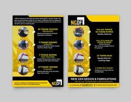 Nro 12 kilpailuun Brochures / Flyers designed käyttäjältä alakram420