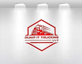 munchurpatwary71 tarafından Logo Design for my Trucking Business ( Dump It Trucking LLC ) için no 822