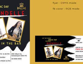 #73 for Flyer & FB Cover for event by NairitaMostafa24
