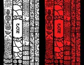 Nro 8 kilpailuun Graphic Design for MTB frame protection kits käyttäjältä salimod9