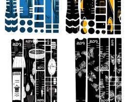 Nro 11 kilpailuun Graphic Design for MTB frame protection kits käyttäjältä mstbilkis606