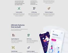 Nro 18 kilpailuun Web page design - Influencers käyttäjältä Mominulmome