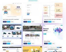 Nro 9 kilpailuun Web page design - Influencers käyttäjältä sonjoybarmon