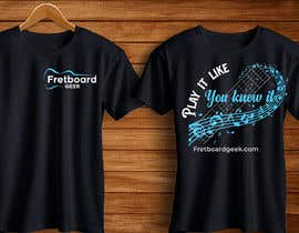 #176 for T-Shirt design for education site for fretted instruments (not just guitar) by papay58