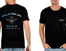 #131 for T-Shirt design for education site for fretted instruments (not just guitar) by hazemhiza