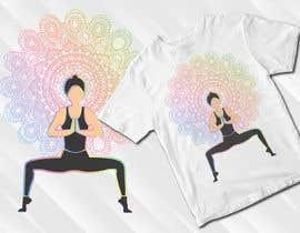 #77 for Goddess Yoga Pose T-shirt by mohonamm13