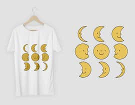 #52 для Moon Phases T-Shirt от yasinnabi007