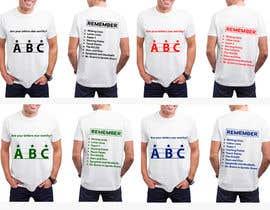 Nro 29 kilpailuun Create a tee shirt design käyttäjältä shatabdi3626