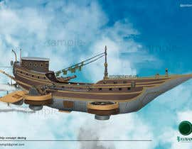 #29 for Airship Design by Javiian16