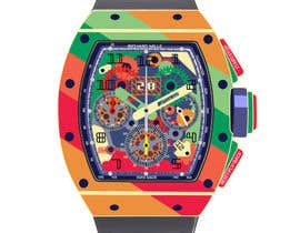 XFrank tarafından POP ART Colourful Detailed Watch Needed için no 15