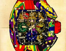 #13 cho POP ART Colourful Detailed Watch Needed bởi Dayna2