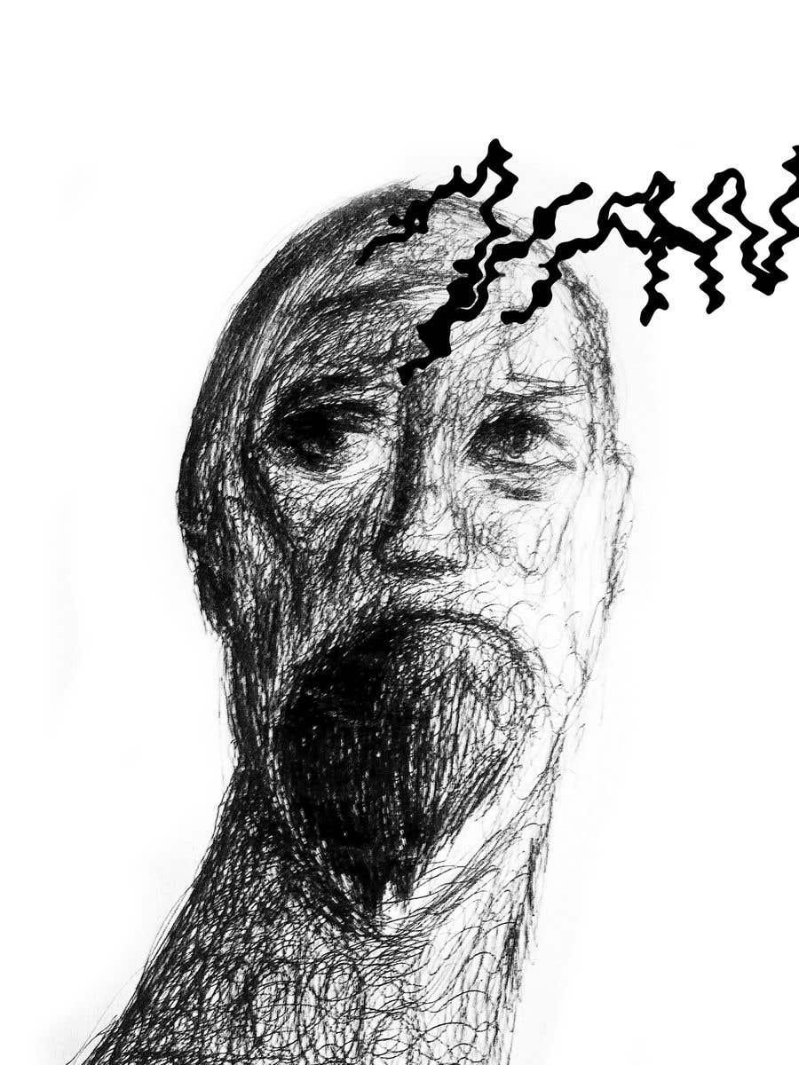 Kilpailutyö #                                        27                                      kilpailussa                                         Scribbled dark art