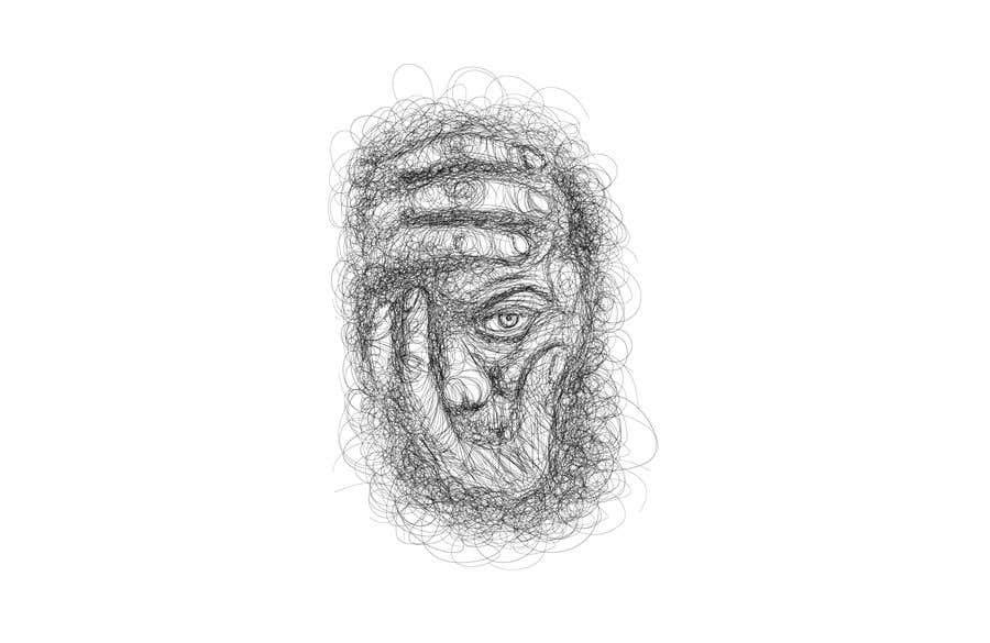 Kilpailutyö #                                        19                                      kilpailussa                                         Scribbled dark art