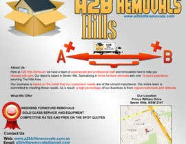 #6 para Design a Flyer for Furniture Removals Company por erichcomanoficia