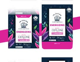 #114 for CANNABIS -TEA BOXES PACKAGING DESIGN by xskrtzx