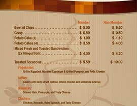 #17 cho I need some Graphic Design for a new Menu bởi pbcates25
