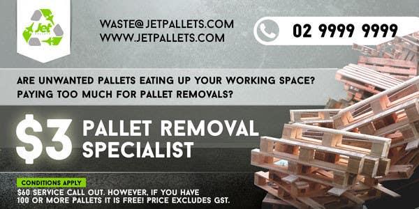"Contest Entry #                                        27                                      for                                         Design a Flyer for ""Jet Pallets"""