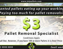 "#7 for Design a Flyer for ""Jet Pallets"" af N3ky"