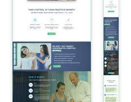 Nro 44 kilpailuun New beautiful home page (modern/clean) for marketing agency käyttäjältä Sandaruwan93