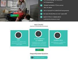 Nro 34 kilpailuun New beautiful home page (modern/clean) for marketing agency käyttäjältä Manpreetghumiara