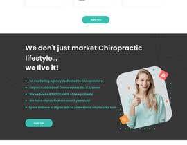Nro 24 kilpailuun New beautiful home page (modern/clean) for marketing agency käyttäjältä Nanbibip27