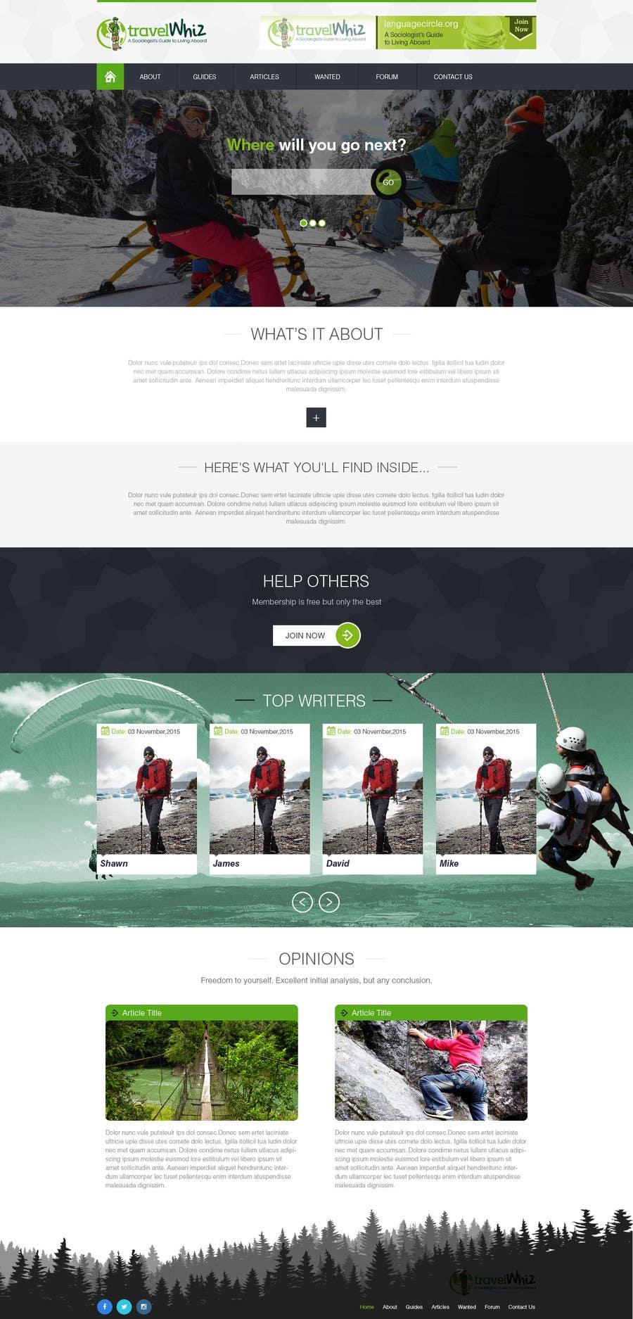 Konkurrenceindlæg #                                        5                                      for                                         Design a Website Mockup for TW