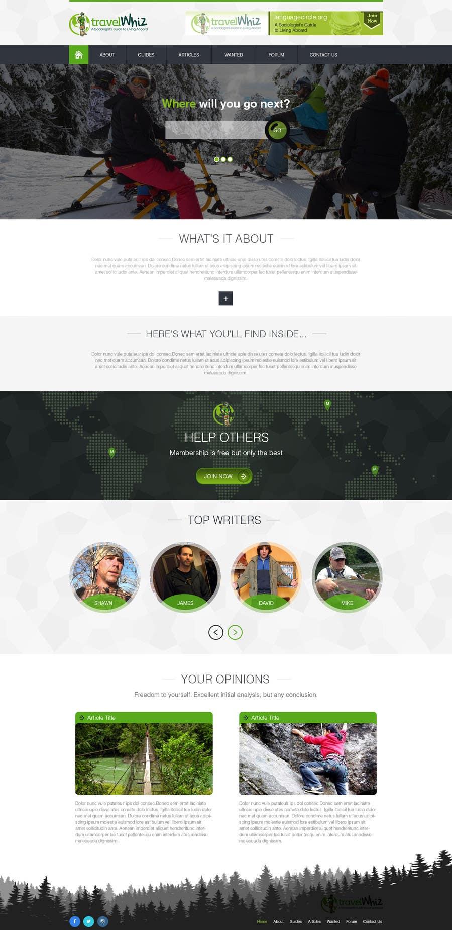 Konkurrenceindlæg #                                        9                                      for                                         Design a Website Mockup for TW