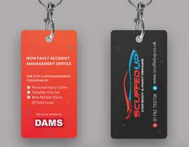 #212 for Design a Keyring Card for an Auto Body Shop af mamun313
