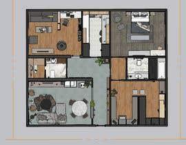 nº 22 pour designing my apartment par Rachaelmk