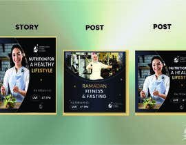 #55 for Visual/Flyer for Instagram Posts & Stories by designghar101