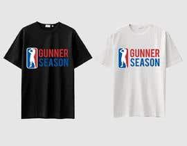 #71 for Gunner season league logo for t shirt af feramahateasril