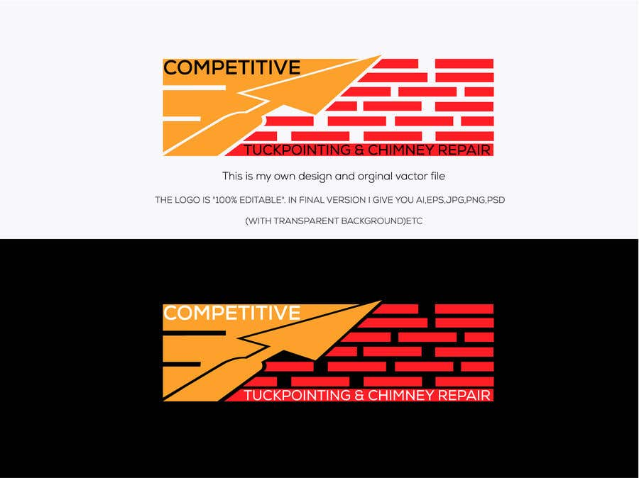 Contest Entry #                                        13                                      for                                         Logo for tuckpointing & chimney repair company
