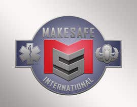 nº 37 pour MakeSafe International Non Profit Casualty Extraction and Explosive Ordnance Disposal service logo contest par fingerburns