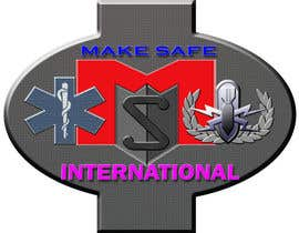 nº 45 pour MakeSafe International Non Profit Casualty Extraction and Explosive Ordnance Disposal service logo contest par nazrulislam277