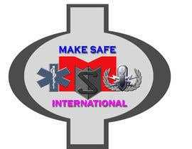 nº 47 pour MakeSafe International Non Profit Casualty Extraction and Explosive Ordnance Disposal service logo contest par nazrulislam277